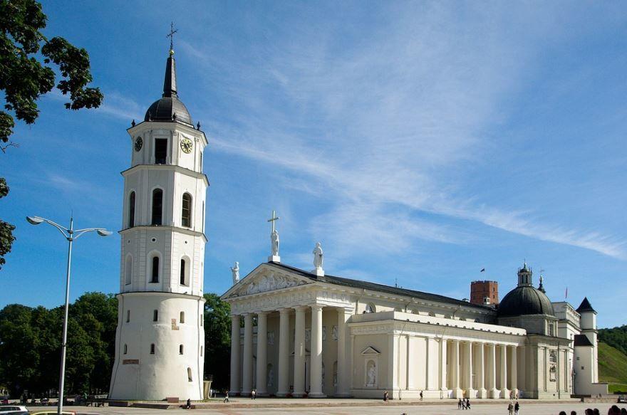 Собор город Вильнюс Литва