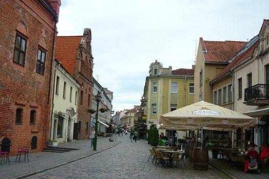 Смотреть красивое фото город Каунас