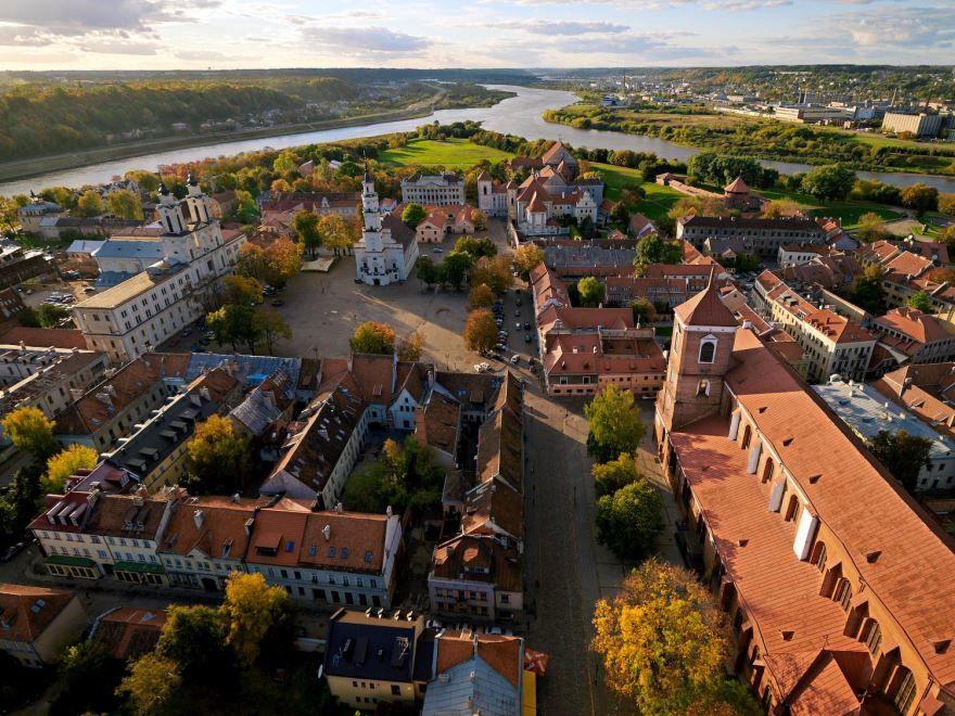 Скачать онлайн бесплатно лучшее фото город Каунас в хорошем качестве