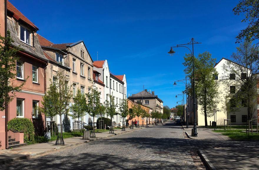 Смотреть красивое фото города Клайпеда