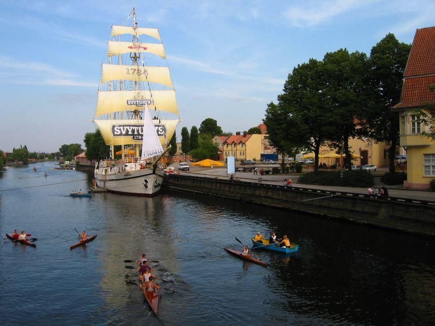 Фото города Клайпеда Литва
