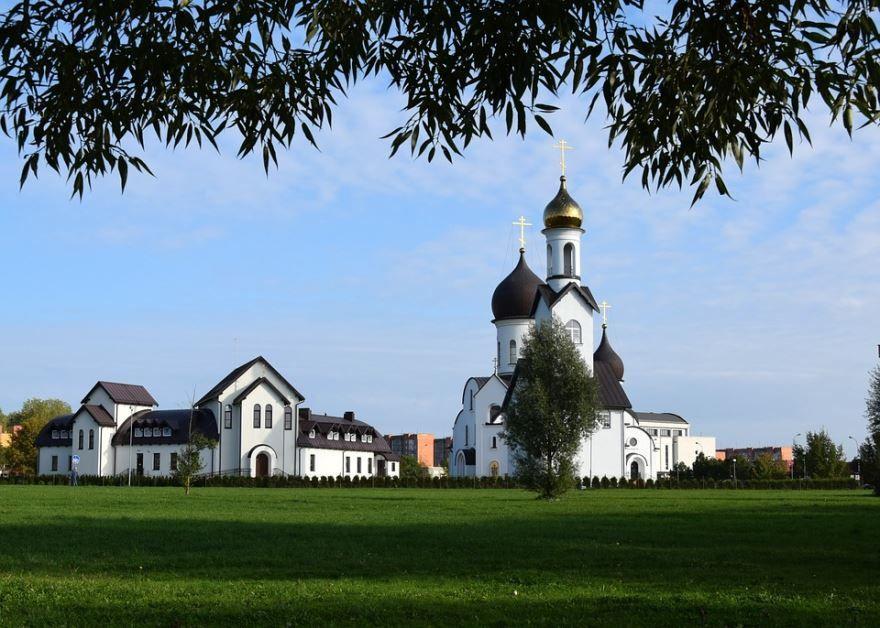 Церковь города Клайпеда Литва