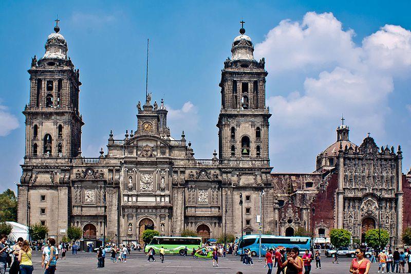 Собор город Мехико