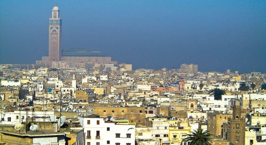 Фото города Касабланка Марокко