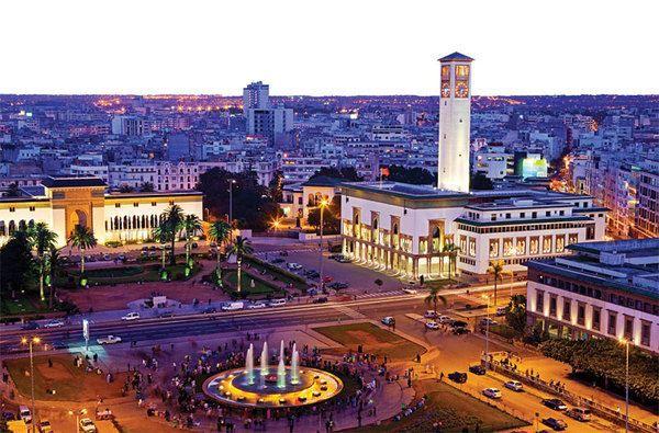 Смотреть красивое фото город Касабланка