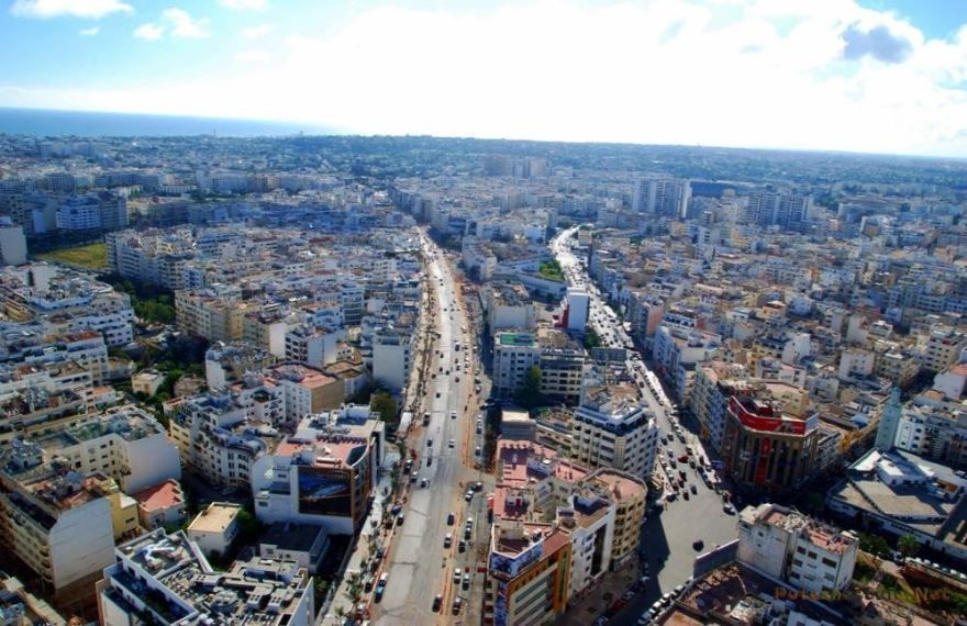Вид на город Касабланка