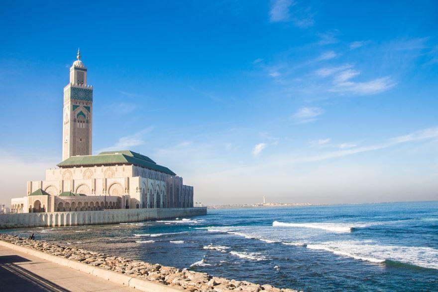 Мечеть город Касабланка Марокко