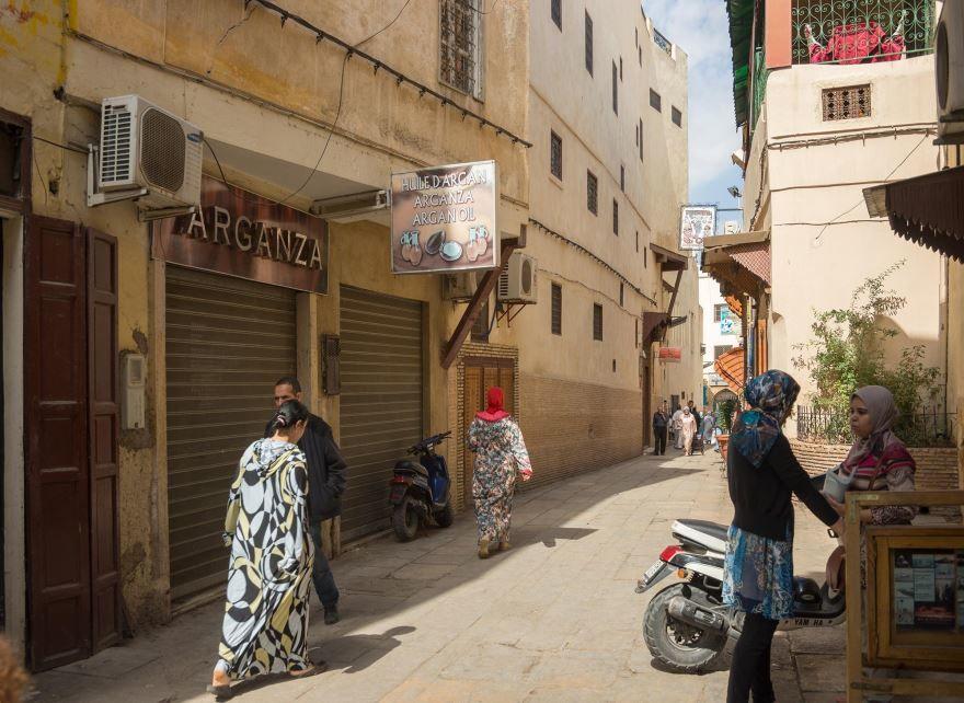 Улица город Фес