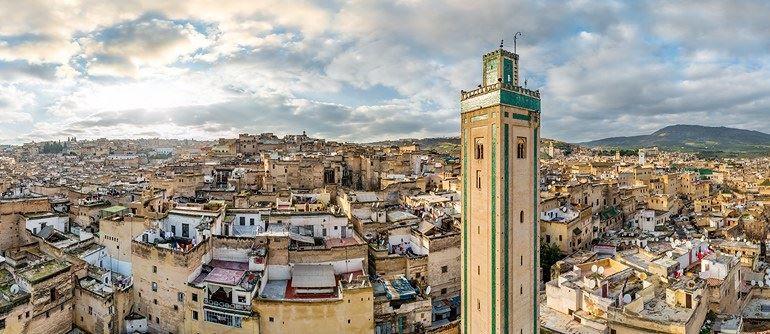 Фото города Фес Марокко