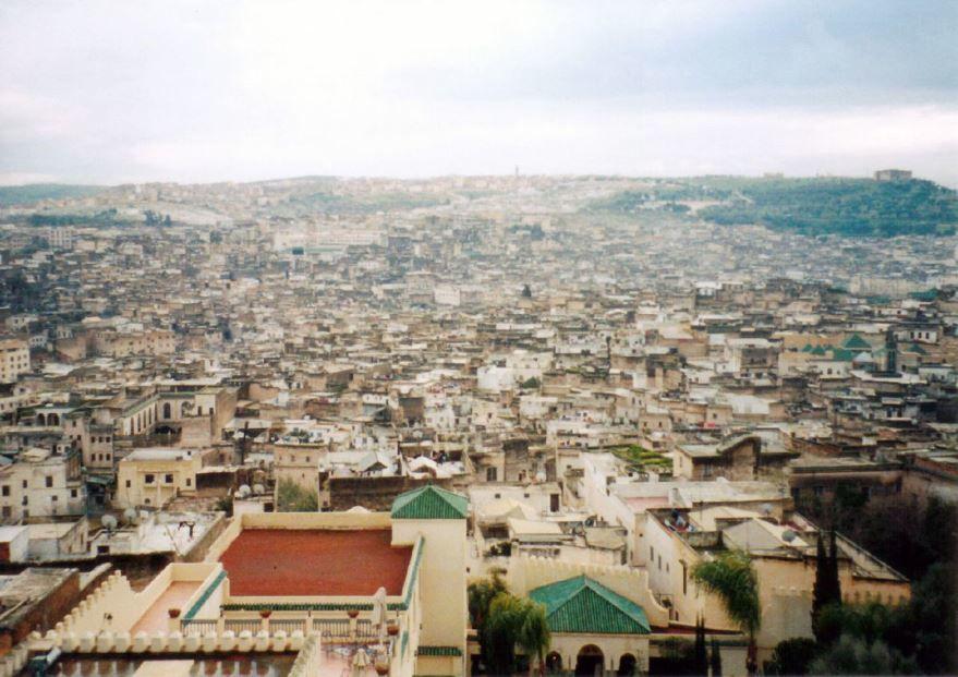 Панорама город Фес