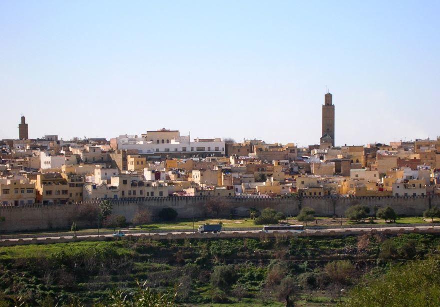 Фото города Мекнес Марокко