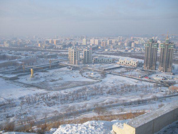 Фото города Улан-Батор Монголия