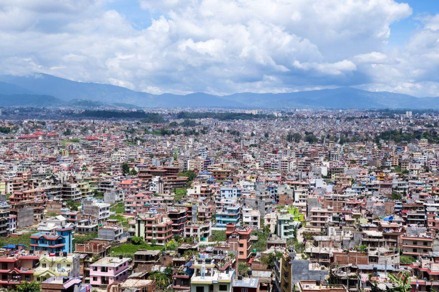 Панорама города Катманду скачать онлайн бесплатно