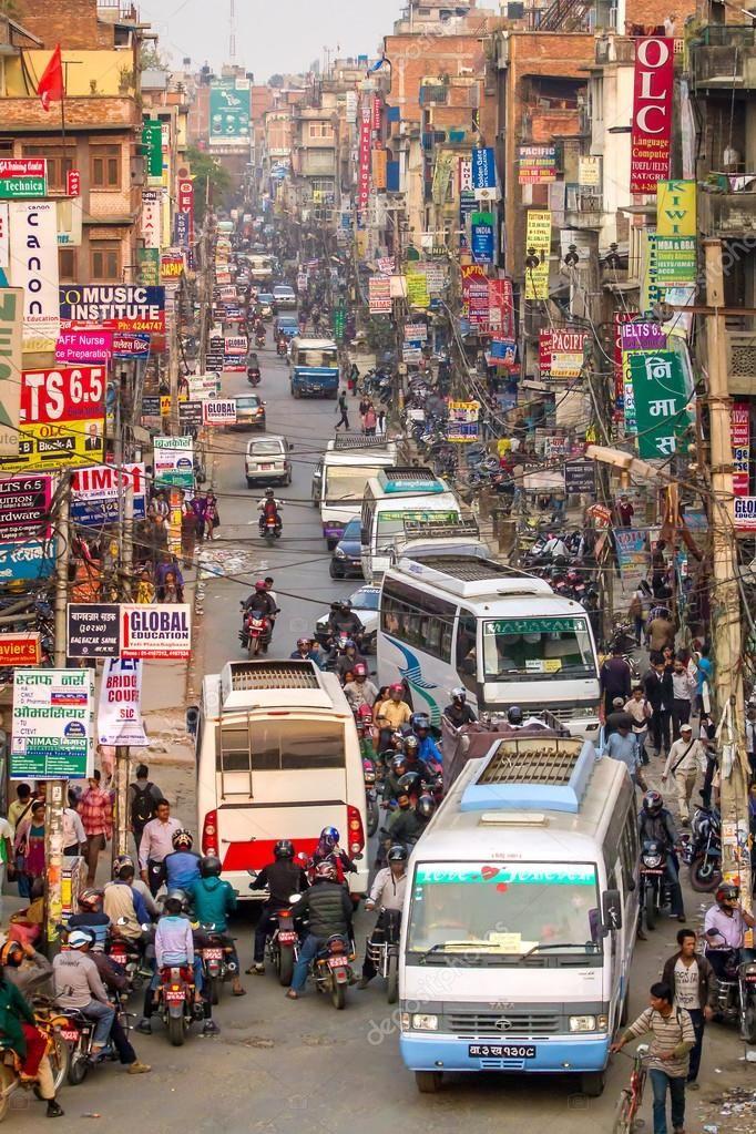 Улица города Катманду