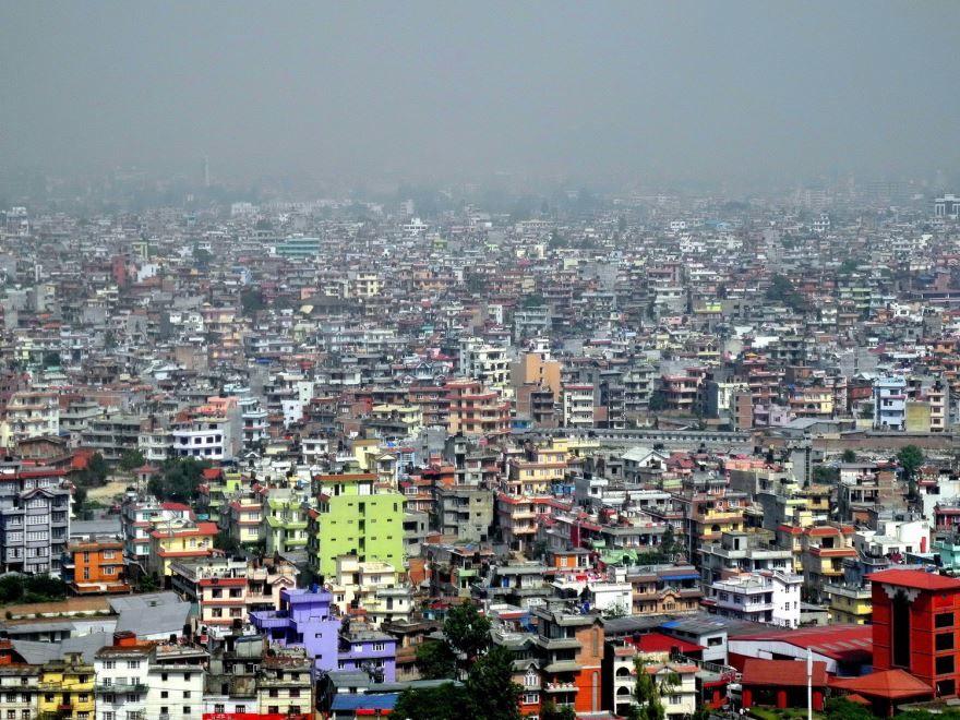 Панорама города Катманду Непал