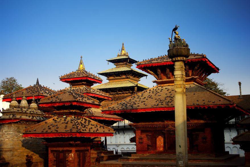 Площадь Дубар города Катманду Непал