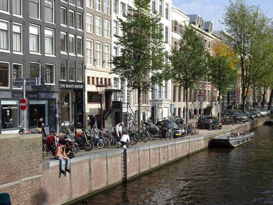 Фото города Амстердам Нидерланды