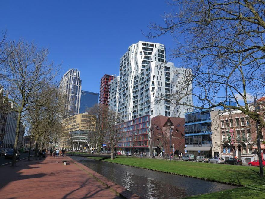 Смотреть красивое фото город Роттердам