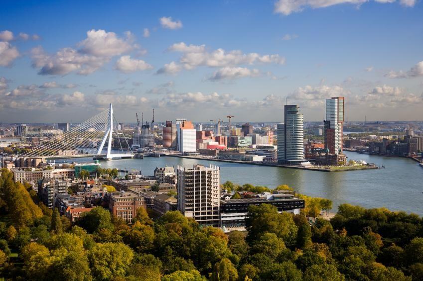 Фото города Роттердам Нидерланды