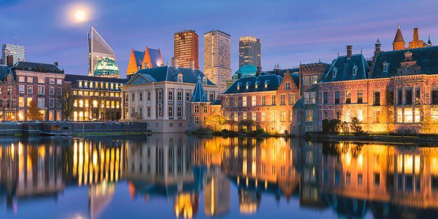 Фото города Гаага Нидерланды