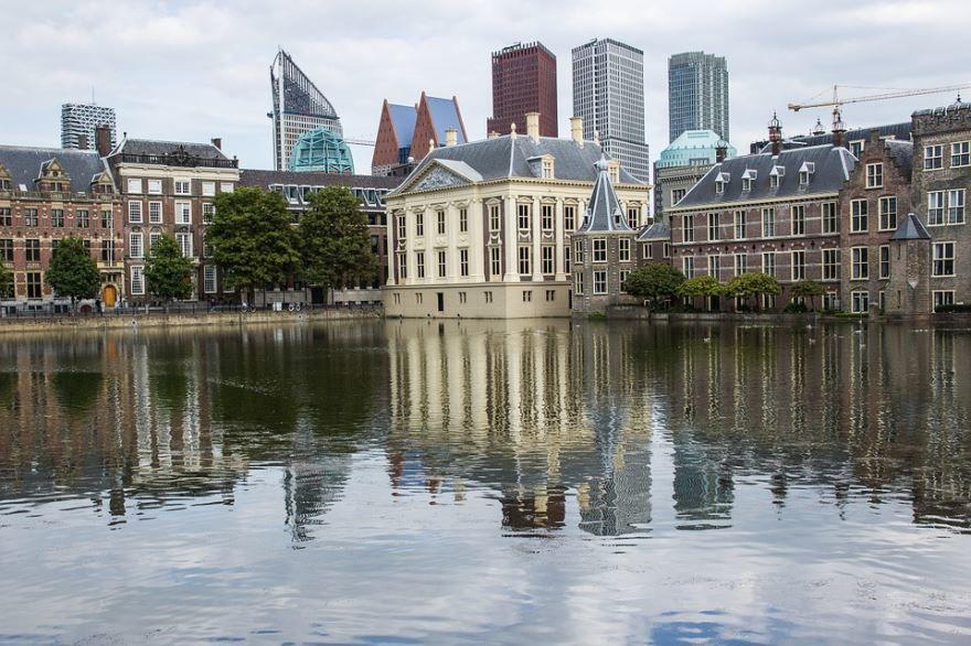 Смотреть красивое фото город Гаага