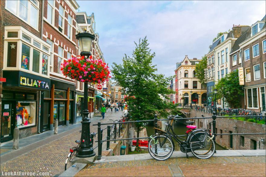 Смотреть красивое фото город Утрехт