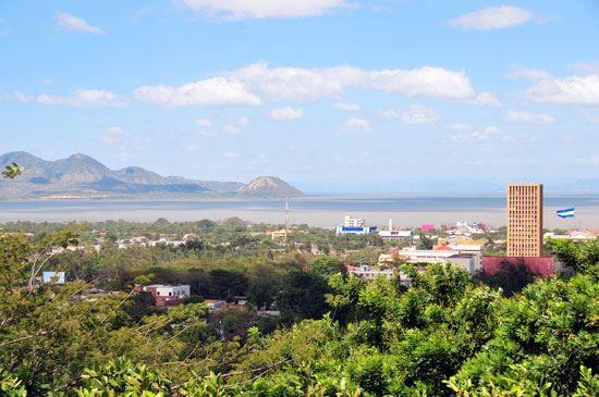 Фото города Манагуа Никарагуа