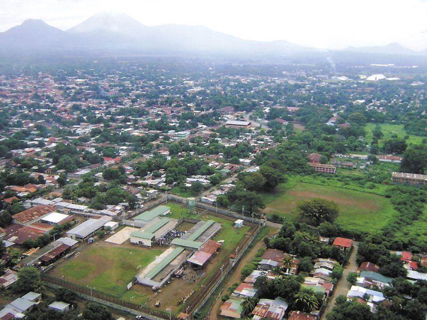 Панорама города Чинандера Никарагуа