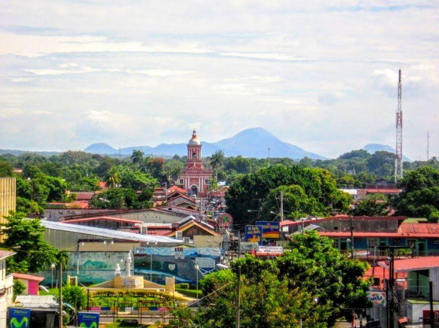 Фото города Чинандера Никарагуа