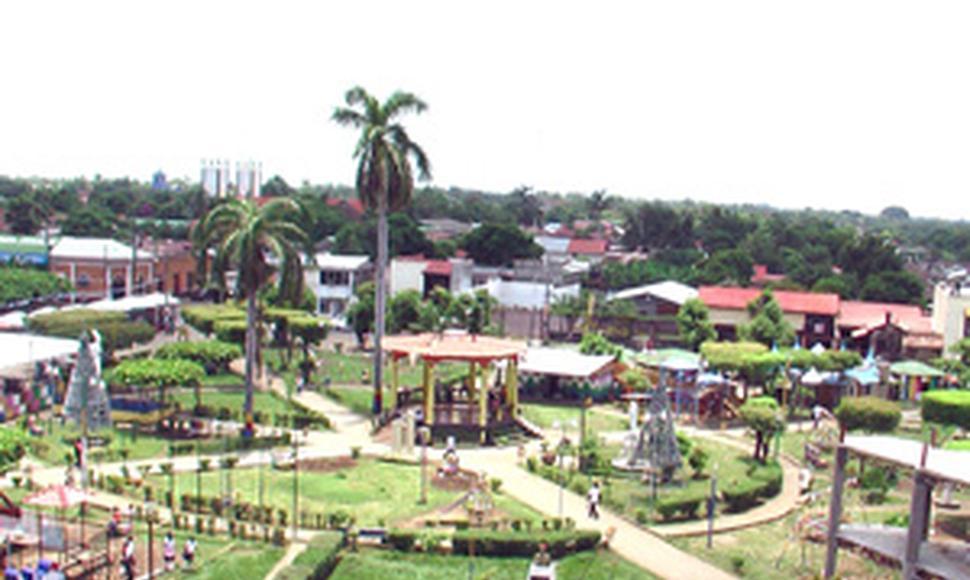 Вид на город Чинандера Никарагуа