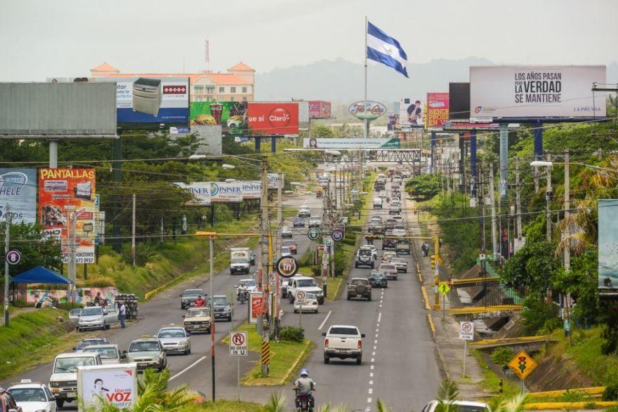 Фото города Масая Никарагуа