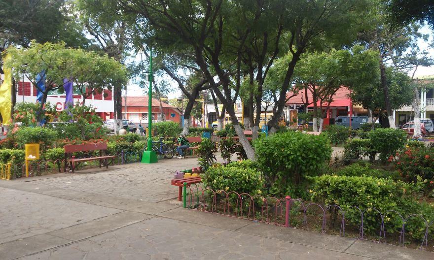 Парк города Масая Никарагуа