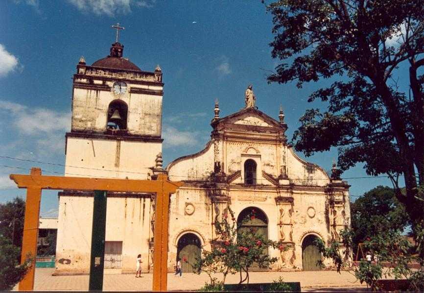 Собор города Масая Никарагуа