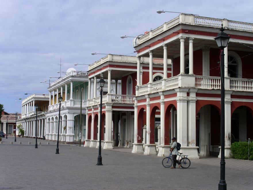 Фото города Гранада Никарагуа