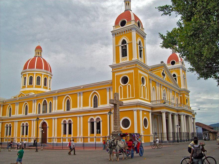 Собор города Гранада Никарагуа