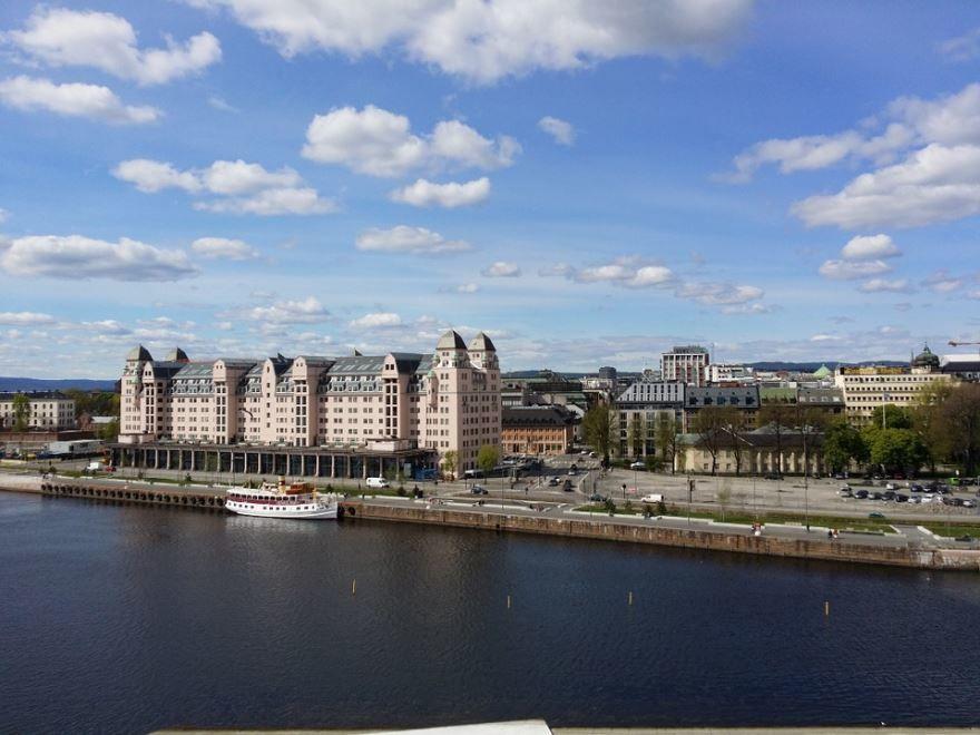 Вид на город Осло