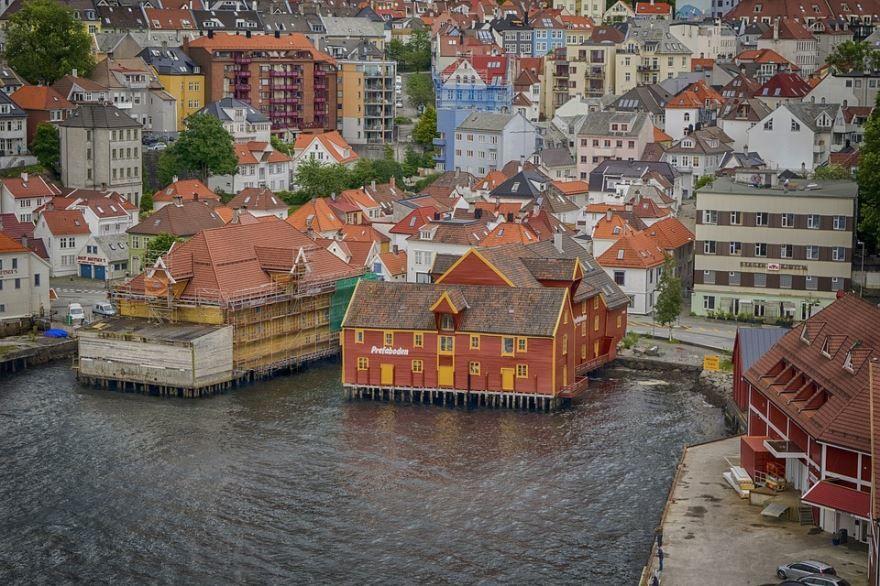 Смотреть красивое фото город Берген