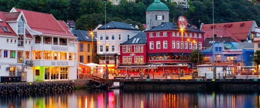 Скачать онлайн бесплатно лучшее фото город Берген в хорошем качестве