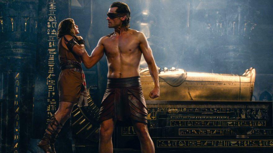 Бесплатные кадры к фильму Боги Египта в качестве 1080 hd