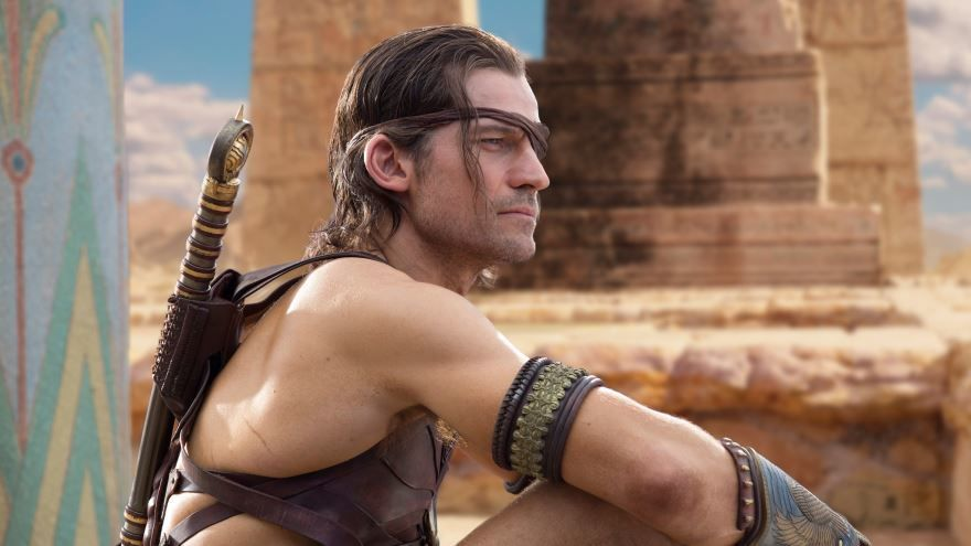 Смотреть бесплатно постеры и кадры к фильму Боги Египта онлайн