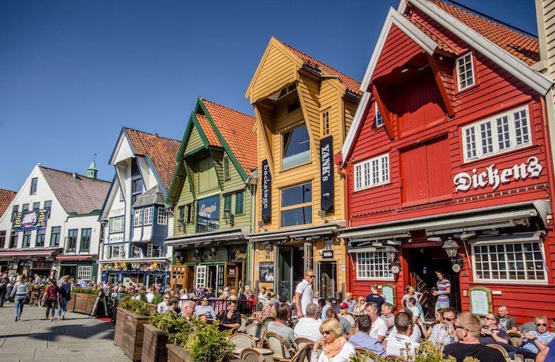 Смотреть красивое фото город Ставангер