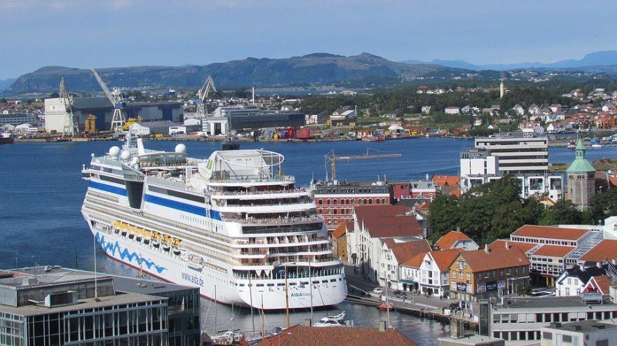 Фото города Ставангер Норвегия