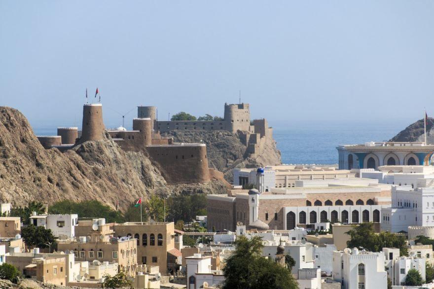 Фото города Маскат Оман