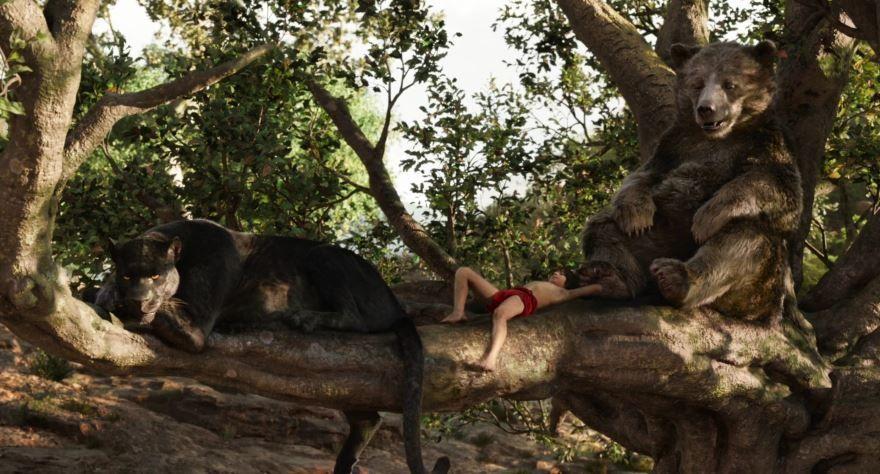 Бесплатные кадры к фильму Книга джунглей в качестве 1080 hd