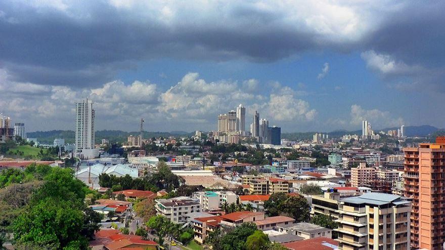 Панорама город Панама