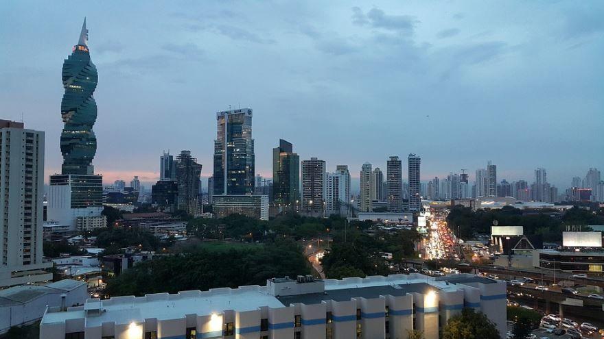 Смотреть красивое фото город Панама