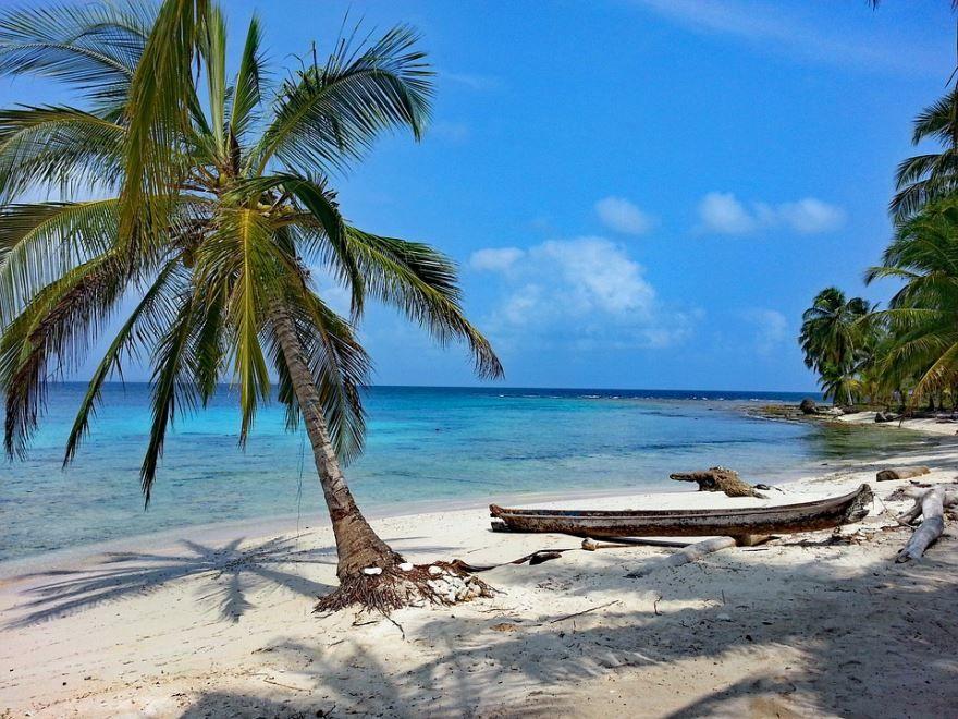 Пляж города Панама