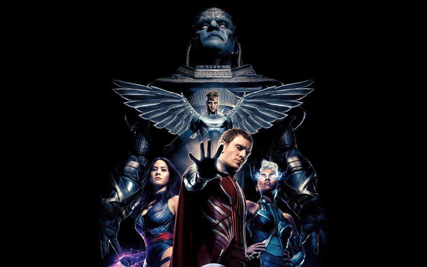 Скачать бесплатно постеры к фильму Люди Икс: апокалипсис в качестве 720 и 1080 hd