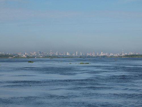 Скачать онлайн бесплатно лучшее фото вид на город Асунсьон в хорошем качестве