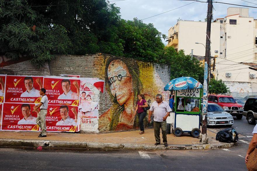 Улица город Асунсьон